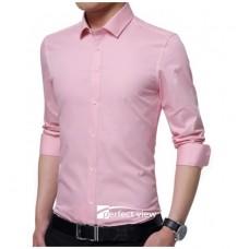 M2-007   Men's shirt   long sleeve slim-fit shirt
